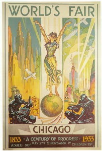A 1933 Century of Progress world's fair poster