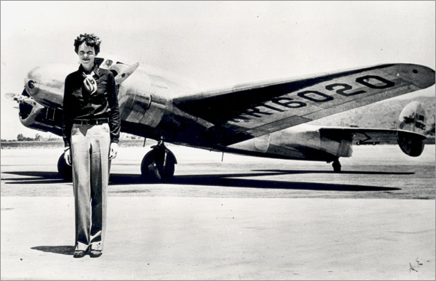 On July 2, 1937 Amelia Earhart together with her navigator Fred Noonan vanished into the Central Pacific. Since then, they were never heard from again.