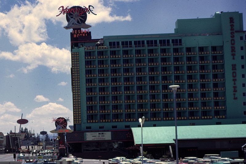 Photo of Harvey's Resort Hotel taken in 1978 before the explosion