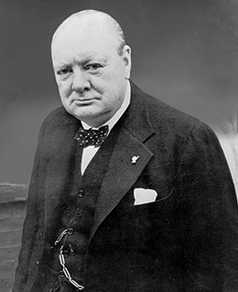 The Right Honourable  Sir Winston Churchill