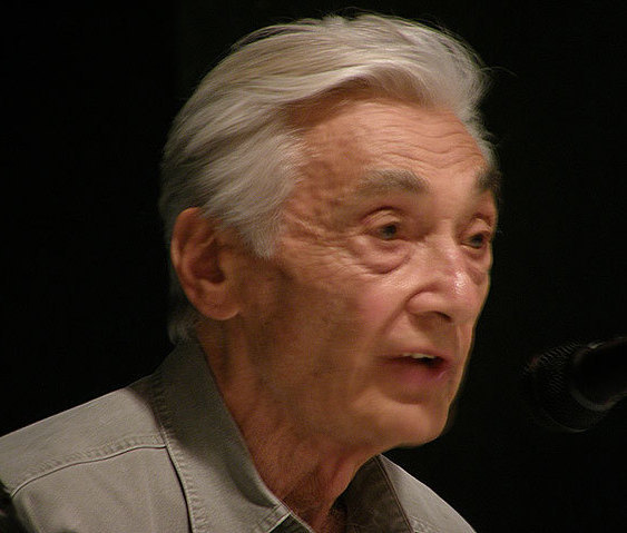 Photograph of Howard Zinn, May 2009.
