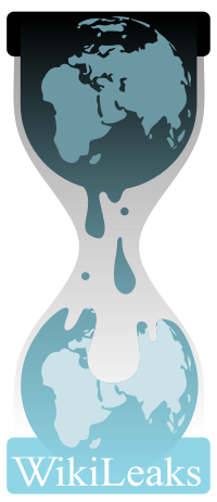 Logo of the Wikileaks Organization