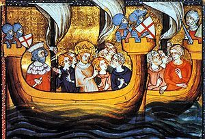 Louis IX during the Seventh Crusade.