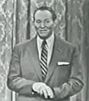 Screencapture of Art Linkletter appearing on the Jack Benny Show