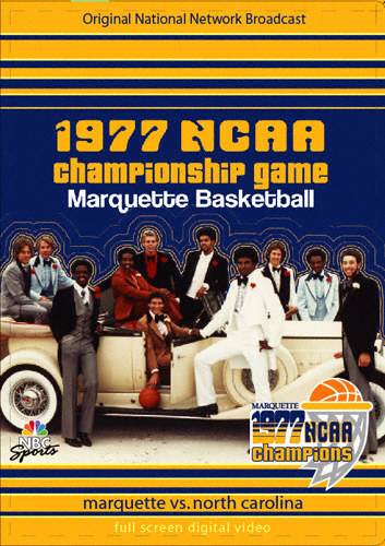 Marquette Golden Eagles 1977 NCAA Championship Game DVD