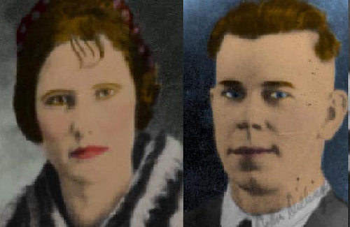 Beryl Hovious and John Dillinger