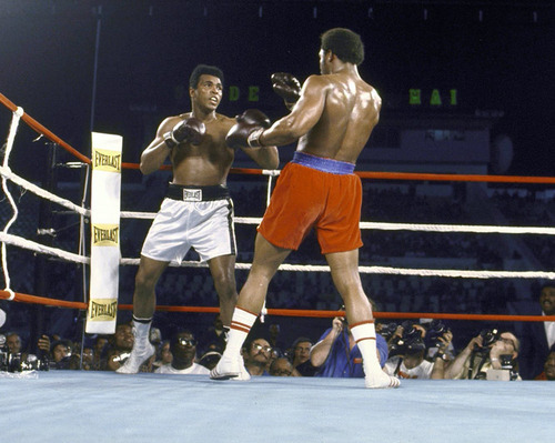 Rumble In The Jungle - Muhammad Ali vs. George Foreman - October 30, 1974