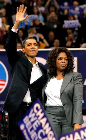 Oprah Winfrey And Barack Obama