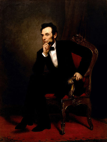 Official Presidential portrait of Abraham Lincoln