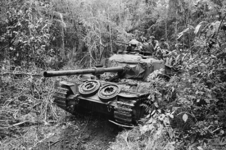 Australian Centurion tank, Operation Overlord June 1971.