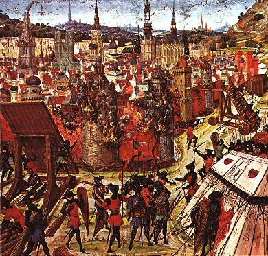 The capture of Jerusalem marked the First Crusade's success