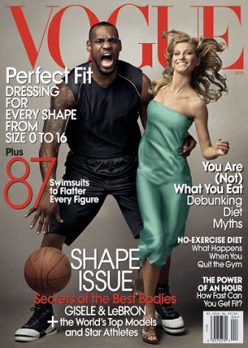 Controversial Vogue Cover feat. LeBron James