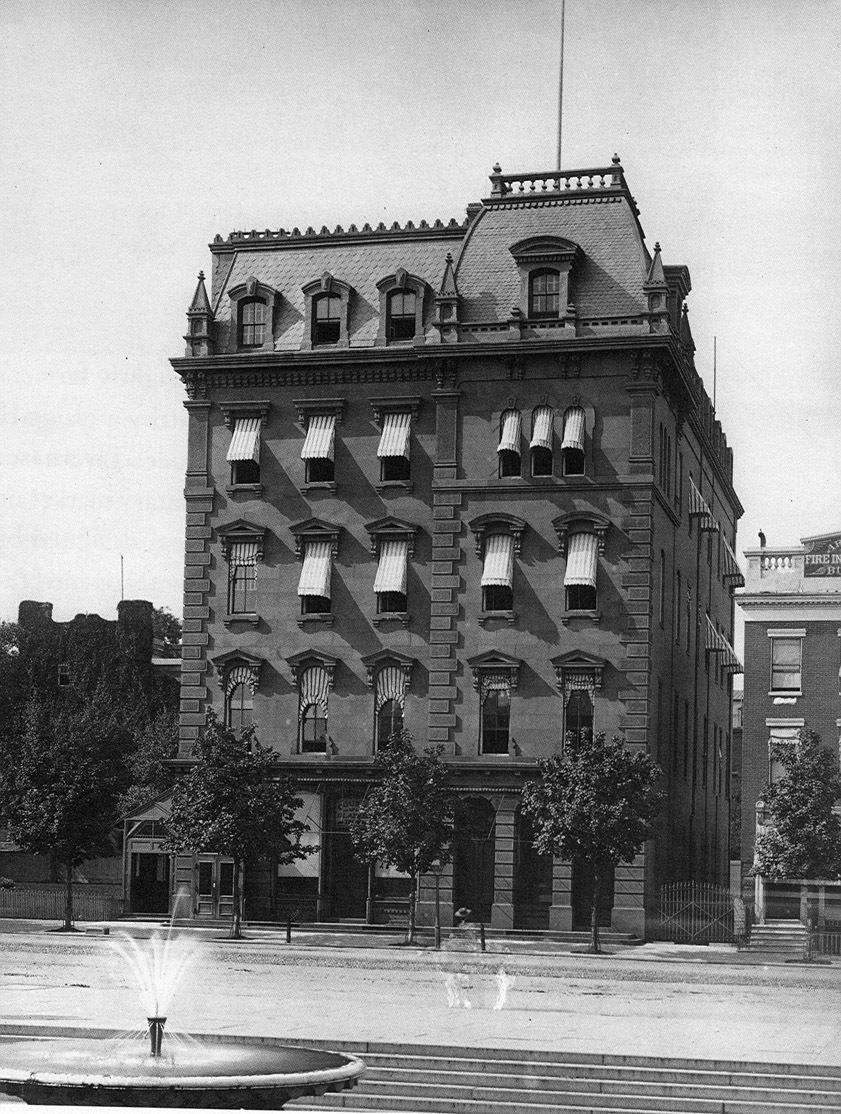 Photo of the Freedman's Saving and Trust Building