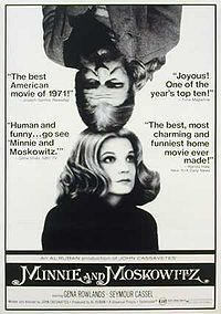 """Minnie And Moskowitz"" Movie Poster"