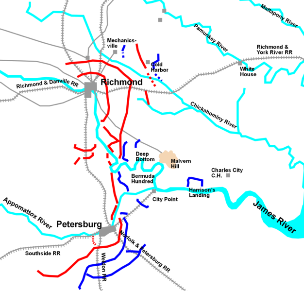 First Battle Of Petersburg