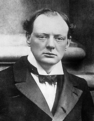 Winston Churchill in 1904