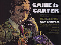"""Get Carter"" Movie Poster"