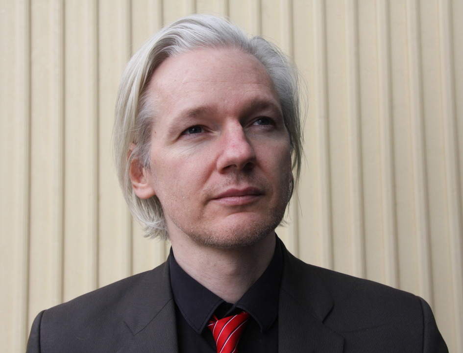 Photograph of Wikileaks founder Julian Assange taken in Norway, March 2010.
