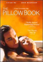 """The Pillow Book"" Movie Poster"
