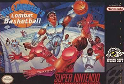 Bill Laimbeer's Combat Basketball Coverart