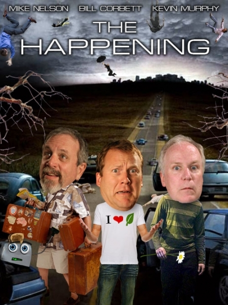 Rifftrax The Happening Web Poster