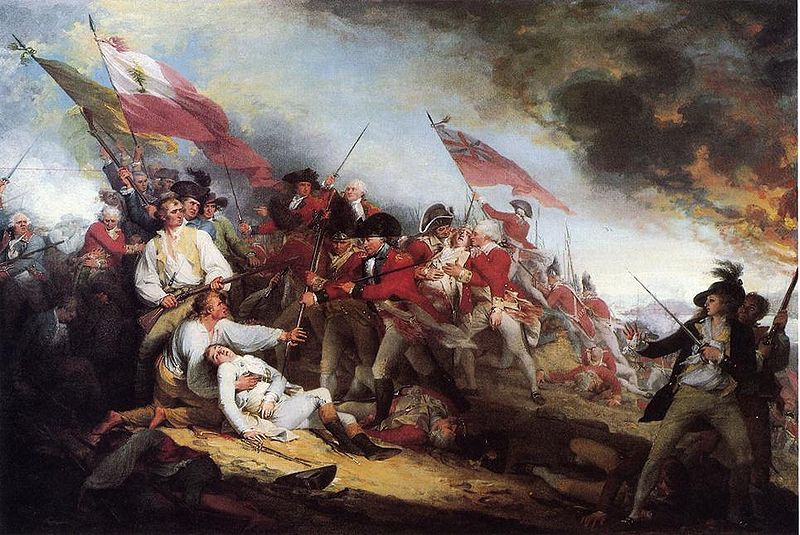 an analysis of the battle of bunker hill in american history The death of general warren at the battle of bunker's hill, 17 war—a prime source of material for contemporary history american and british, in the.