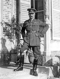 General Sir Henry Rawlinson, Bt, at Fourth Army HQ, Querrieu Chateau, July 1916.