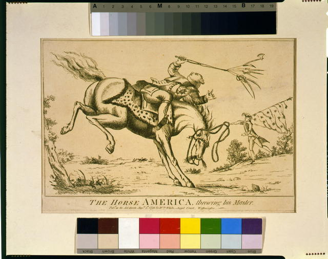 The Horse America, Throwing His Master,