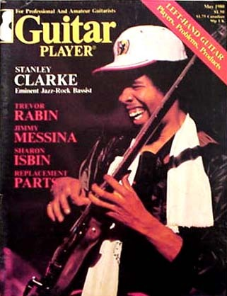 Guitar Player Magazine Cover
