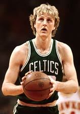 Larry Bird led the Boston Celtics to multiple NBA Titles in the 1980's