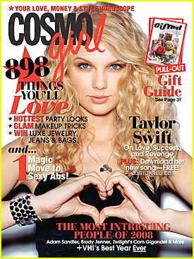 Taylor Swift On The Cover Of CosmoGirl