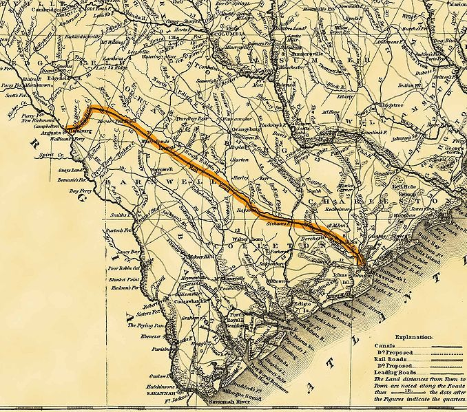 Map Of The Railroad
