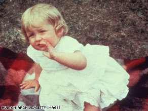 Diana Spencer, shown on her first birthday, grew up at Park House, a country estate leased from the royal family.