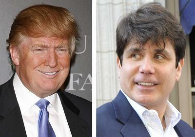 Donald Trump, Rod Blagojevich