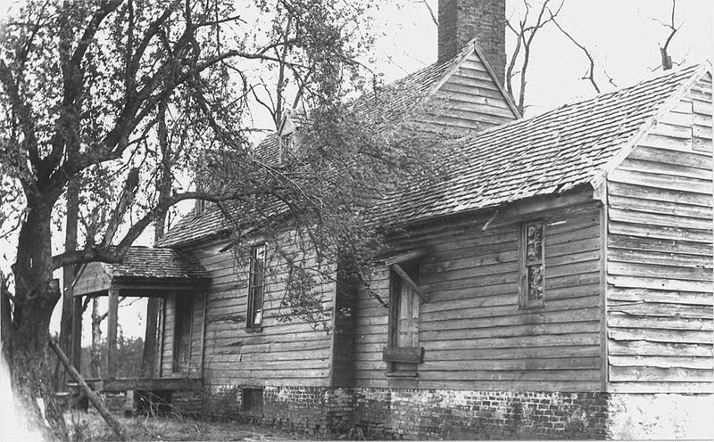 Hillsman House, at Sayler's Creek Battlefield