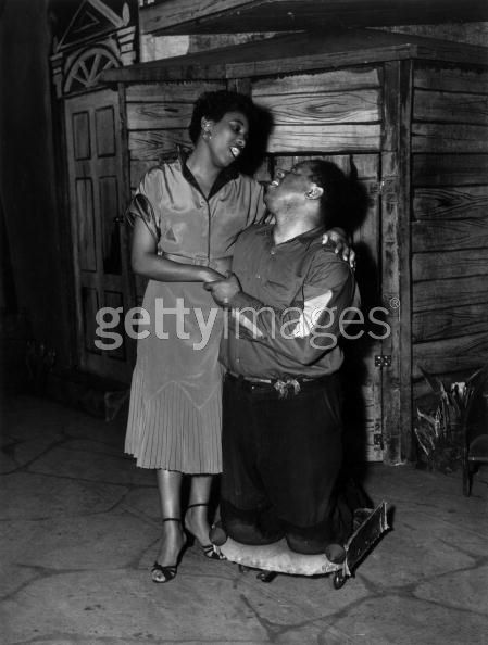 October 1952: A scene from a London production of George Gershwin's opera 'Porgy and Bess'.