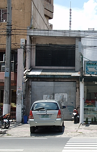 Site of the abandoned Ozone Disco in Quezon City, where a 1996 fire killed over 160 persons.