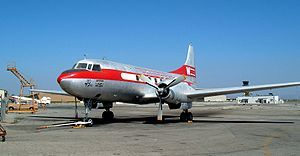 Convair CV-240, similar to the one in crash