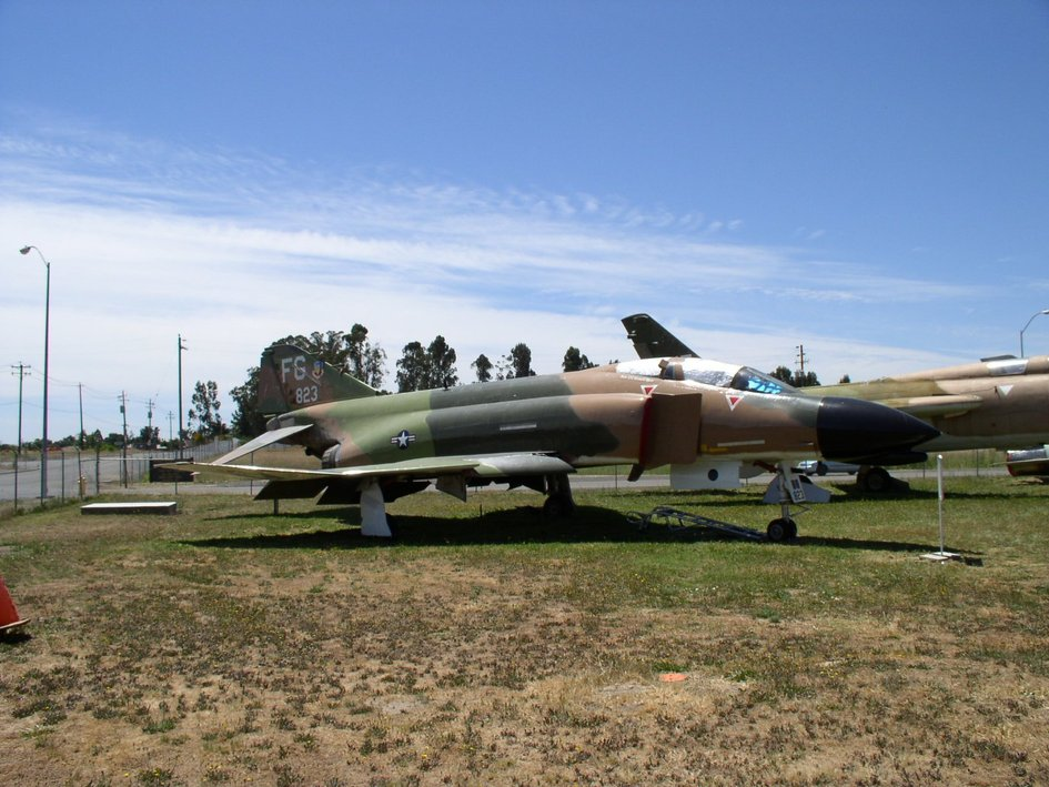 8th TFW F-4C Phantom II on static display at Pacific Coast Air Museum
