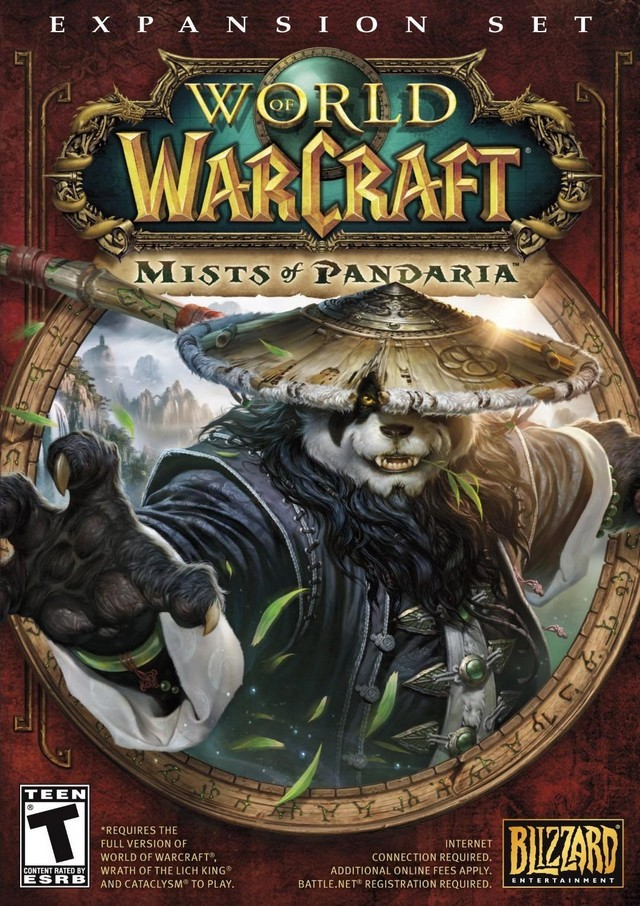 Mists of Pandaria cover art