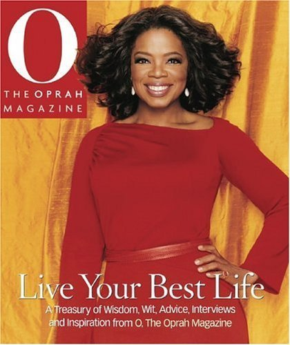 Winfrey on the cover of O, The Oprah Magazine.