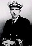 Lt Cmdr Richard Nixon 1945